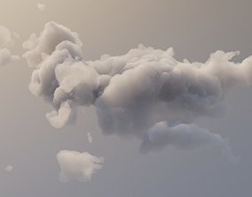 Cloud Polygon Blender 3 3D model