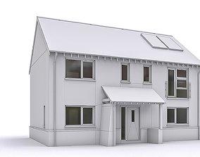 3D asset Townhouse 10