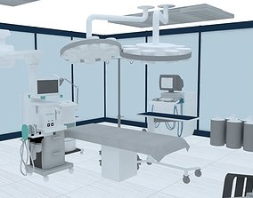 3D asset dental scenario for augmented reality
