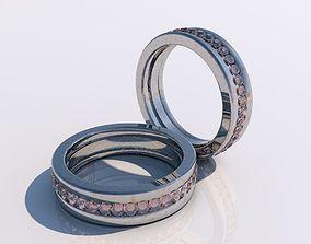 Ruby ring 3D