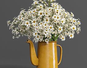 bouquet01-chamomile 3D