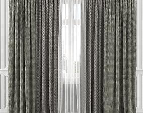 3D model Curtain Set 135C