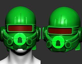 High quality scifi helmet high poly sculpt ver 4 1