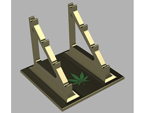 Dab Tool Holder Stand 3D print model