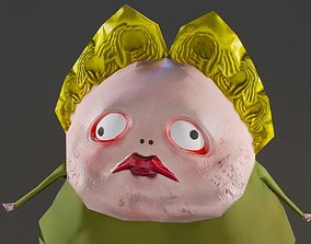 3D model Your Fat Mom Lowpoly Character
