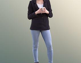 Laura 10738 - Standing Business Woman 3D model