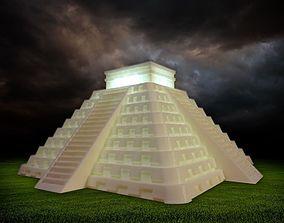 3D printable model Temple of Kukulkan at Chichen Itza