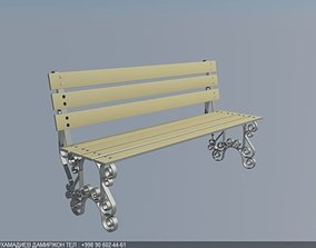 3D printable model Simple bench
