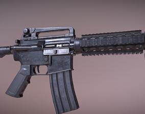 3D asset Colt M4 Rifle