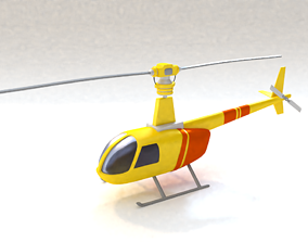bell 3D Helicopter
