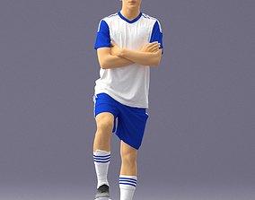 3D model Soccer player 1114-4