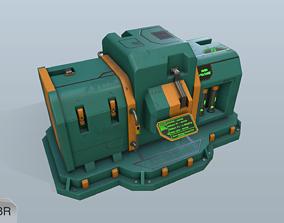 Sci-fi energy node 3D model