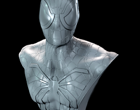 Spider-Man Bust 3D print model