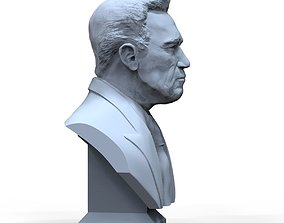 face Arnold Schwarzenegger 3D printable model