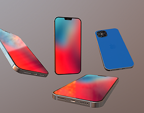 3D model realtime Iphone 12 concept