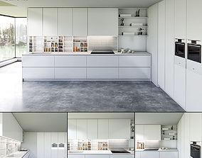 3D Kitchen Bluna Laccato Opaco