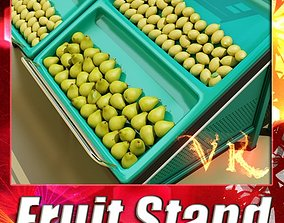 Fruit Stand Smoothable 3D model