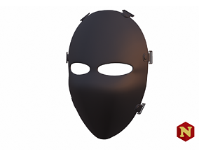 Ballistic Mask 3D printable model