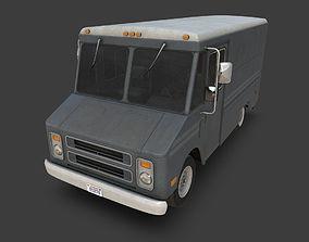 3D asset Step Van