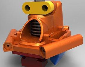 3D printable model Effector stock hotend Anycubic Predator