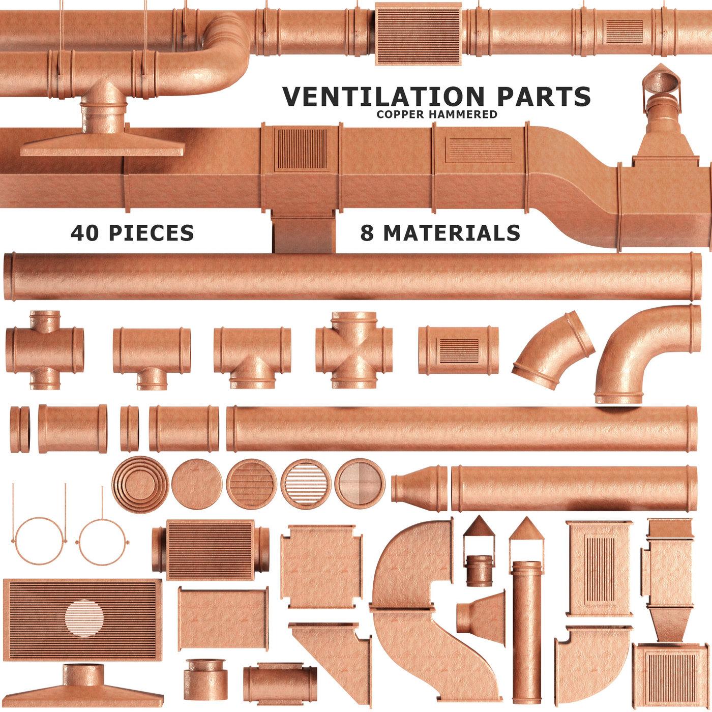 Parts Ventilation System Set 01