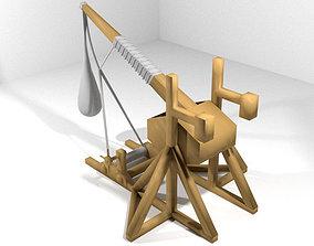 Medieval War Machine - Trebuchet 3D