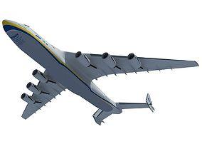3D model Ukrainian Jet Antonov An-225