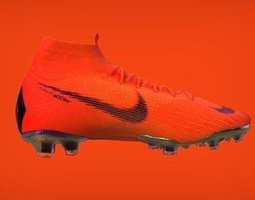 soccer 3D model Nike Mercurial
