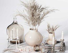 Neutral Decorative Set 04 3D