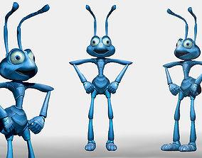 Disney Flik Character ZBrush ZTL Sculpt and Polypaint 3D