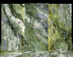 3D asset Brilliant Green Marble 01