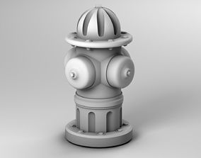 Fire Hydrant fire 3D