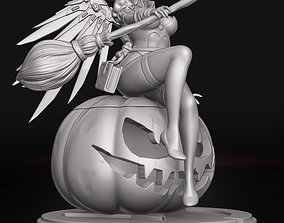 3D printable model Witch Mercy - Overwatch