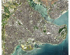 Cityscape Istanbul Turkey 3D