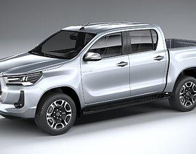 Toyota Hilux Double Cab 2021 3D model
