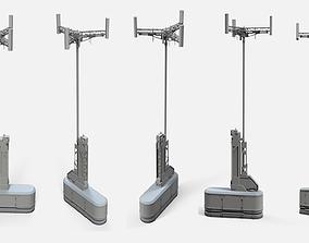 sci fi Mast 2 3D