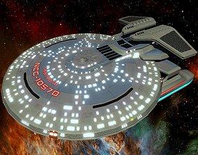 STAR TREK - USS APOLLO NCC-10570 3D model