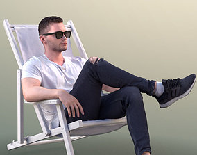 Rick 10498 - Chilling Casual Guy 3D model
