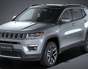 3D Jeep Compass Limited 2017