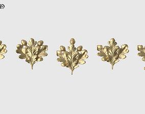 Oak Leaves Set 3D printable model