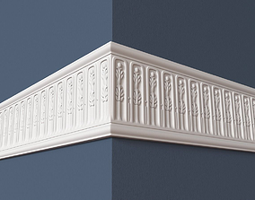 3D model architectural Frieze