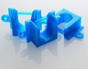 Parametric Closet Rod Bracket 3D print model
