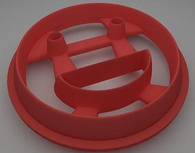 3D print model Laugh Face Cookie Cutter
