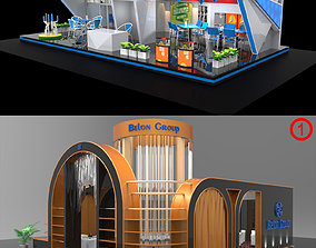 Exhibition Stall Collection 3D