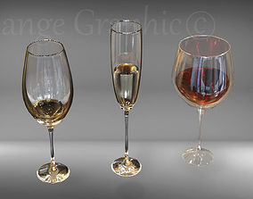 3D model Glass Goblet