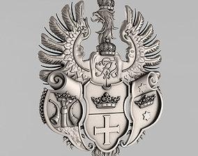 The emblem of Konigsberg 3D print model