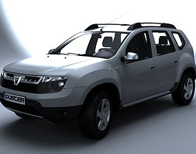 3D model Dacia Duster allterrain