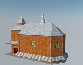 jesu 3D asset game-ready Church