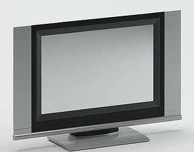 Grey and Black TV 3D