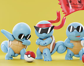3D printable model Squirtle Squad - Pokemon toys - Fan 1